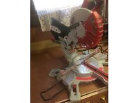 Compound mitre saw lumberjack 1500w slide excellent condition