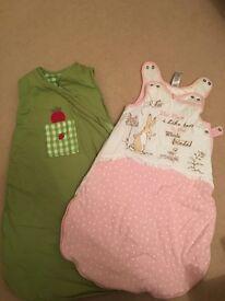 Baby sleeping bag size 0-3, 3-6