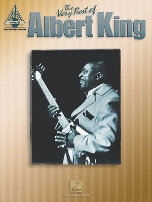 Best Electric Guitar Blues - The Very Best of Albert King Sheet Music Guitar Tablature NEW 000690504
