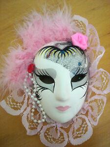Masque de Venise pour décoration, 7 pouces