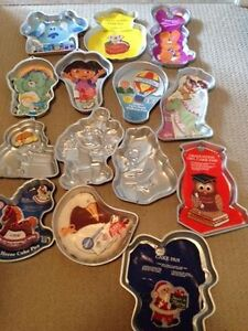 Wilton character cake pans (very lightly used/some never used)
