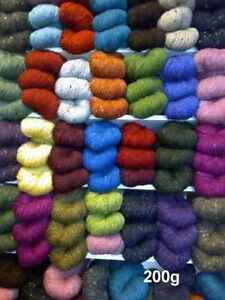 Quality-Irish-Donegal-Aran-Tweed-Knitting-Yarn-100-Wool-7oz-200g-350-yard
