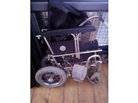 Lightweight foldable wheelchair-small to medium size