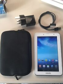 """Samsung tab 2 tablet 8 gig with 7"""" screen £50"""