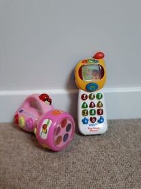 Vtech Musical Torch And Phone