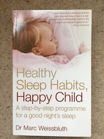 'Healthy Sleep Habits, Happy Child' by Dr Marc Weissbluth