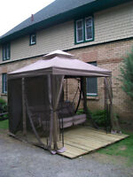 BEAUTIFUL 8 X 8 GAZEBO