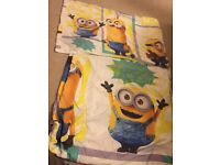 Minions single quilt cover