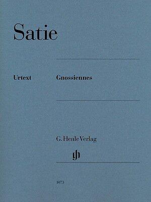 Erik Satie - Gnossiennes Sheet Music Piano Book NEW 051481073