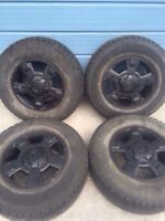 17 Ford F-150 mint rims and new tires bf rugged trail