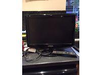 Samsung 18in Black LCD TV