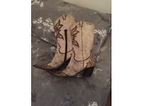 Woman's boots for sale.
