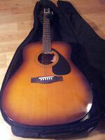 New Yamaha Acoustic Guitar