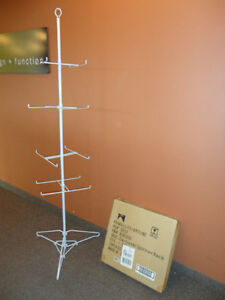 Tall Steel Floor Spinner Display - Brand New in the Box -16 Peg