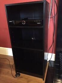 Black Ash shelf unit for sale £40