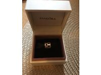 Pandora charm - silver with stars