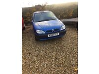 Citreon saxo 1.1 12 months MoT and service! Perfect first car