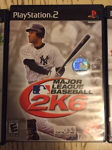 PS2 games - 5 different sports titles London Ontario image 4
