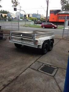 8X5 FULLY ALUMINIUM TANDEM TRAILER FREE SPARE WHEEL & 12MONTH REGO Smithfield Parramatta Area Preview