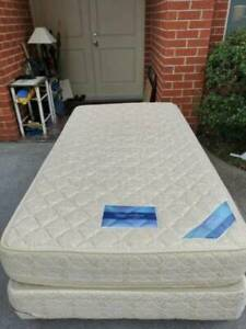 powernfirm king single size base with mattress   good bed and stu