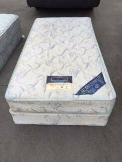 2x comfortable king single base mattress , can delivery at extra