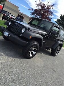 2016 Jeep Wrangler Factory front bumper - complete assembly