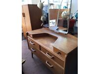 G plan dressing table vintage retro mid century 1950s 1960s