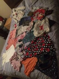 Girls bundle of 4-5 clothes