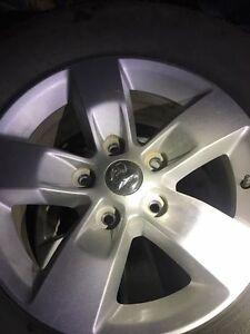 "17"" Rims from Dodge Ram Michelin Latitude X-Ice Xi2 Tires"