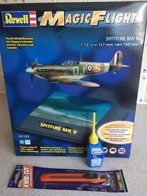 Spitfire Magic Flight plastic model kit