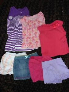 Summer Girls Clothing, Size 24m-2T