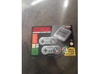 Nintendo snes mini brand new in hand