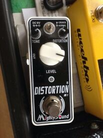 Mighty Distortion MINI guitar pedal (no Marshall)