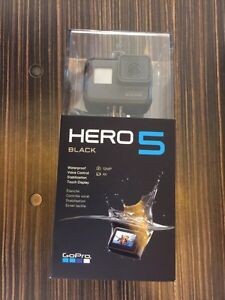 Brand new sealed Hero 5 Black, Released Oct 2 2016 Kawartha Lakes Peterborough Area image 1