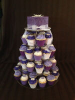 Wedding Cakes, Cupcakes and Cupcake Stand Rentals