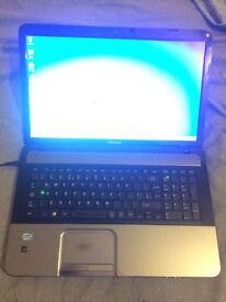 Fast laptop Toshiba 8gb RAM L870 notebook cheap good