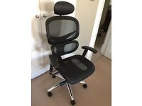 Ergonomically designed study chair in excellent working condition