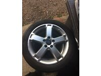 Ford Focus transit connect alloy wheels 17""