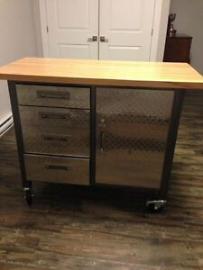 For sale: Canadian Tire Work bench used as kitchen island