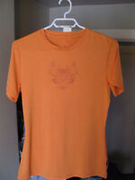 Prana Women's Large Stretch T-shirt