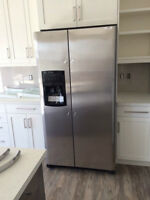BRAND NEW SS Frigidaire 26 Cu Ft. 1/2 Price! *slight damage*