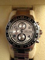 Selling Authentic Invicta Mens Silver Watch
