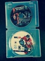 Brother in Arms and NHL 09 for PS3