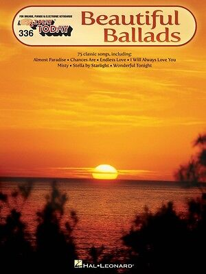 Beautiful Ballads Sheet Music E Z Play Today Book New 000100273
