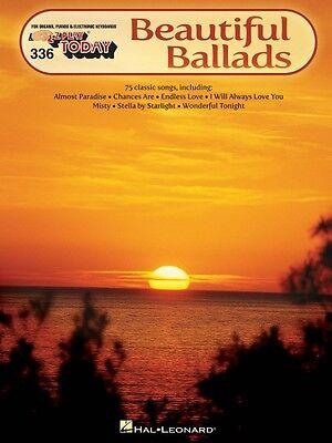 Beautiful Ballads Sheet Music E Z Play Today Book New 000100273