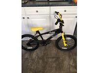 BMX bike Avigo Square Black and Yellow