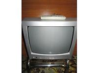 "Toshiba 14"" CRT portable tv"