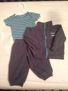 6 month fleece suits