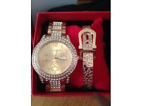Brand new MK watch and bracelet set