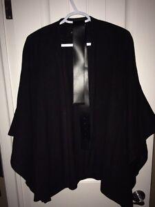 Elegant J RYU cape coat.Bought from shades of grey